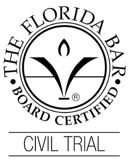 Florida Bar Board Certified – Civil Trial Lawyer