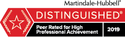 Distinguished - Martindale-Hubbell