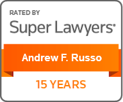 Andrew F. Russo, Super Lawyers - 15 Years