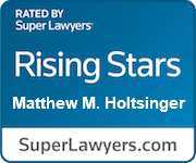 Matthew M. Holtsinger, Super Lawyers